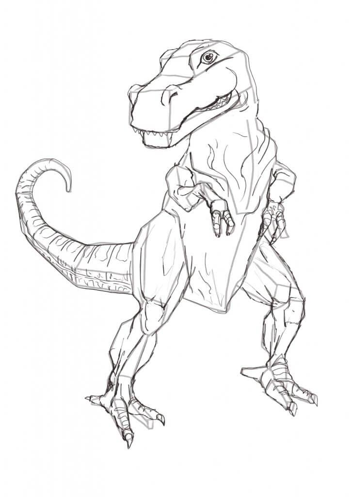 T-Rex pencils