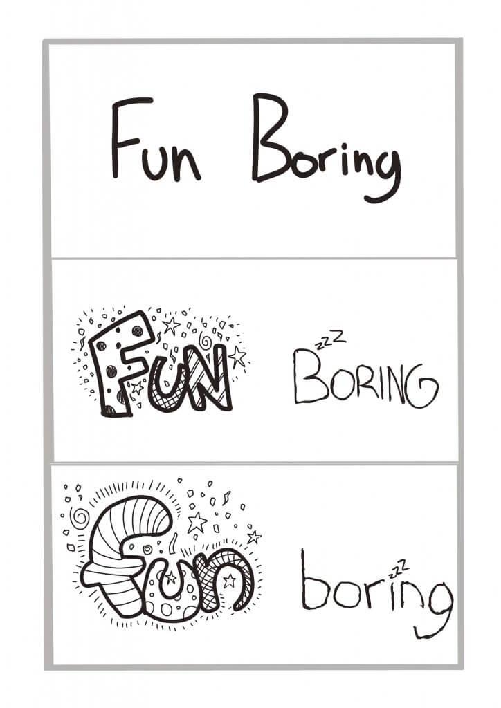 fun-boring